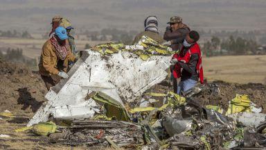 Намериха черната кутия на падналия самолет в Етиопия