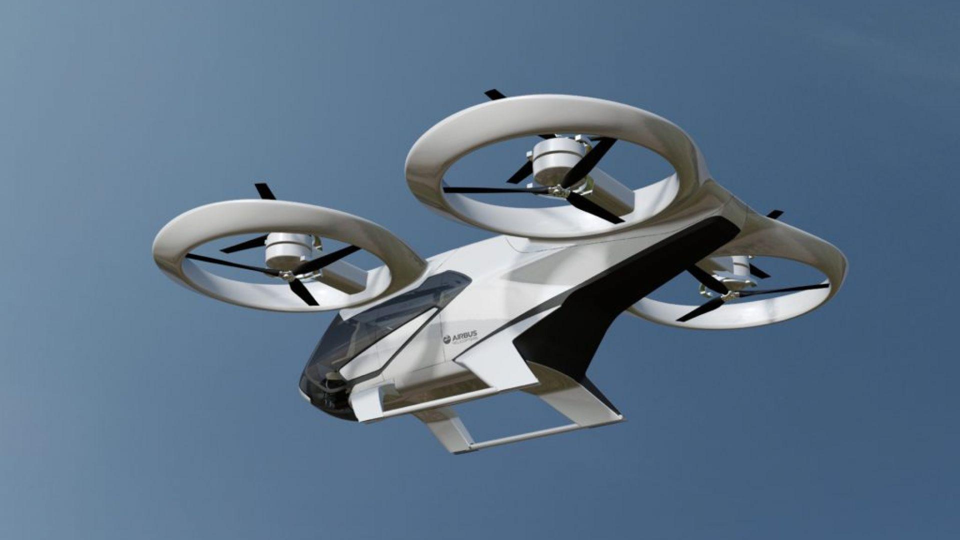 Airbus започна изпитания на въздушно такси