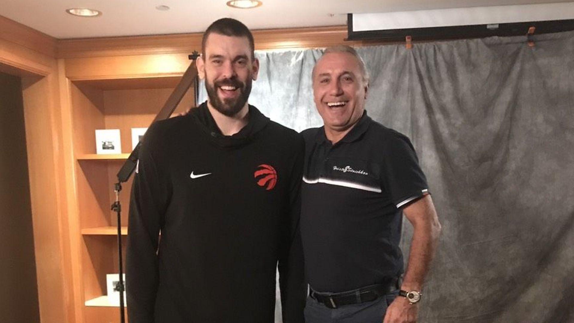 Стоичков направи интервю със звезда на НБА