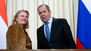 Виена: Днес отношенията ни с Москва са прекрасни
