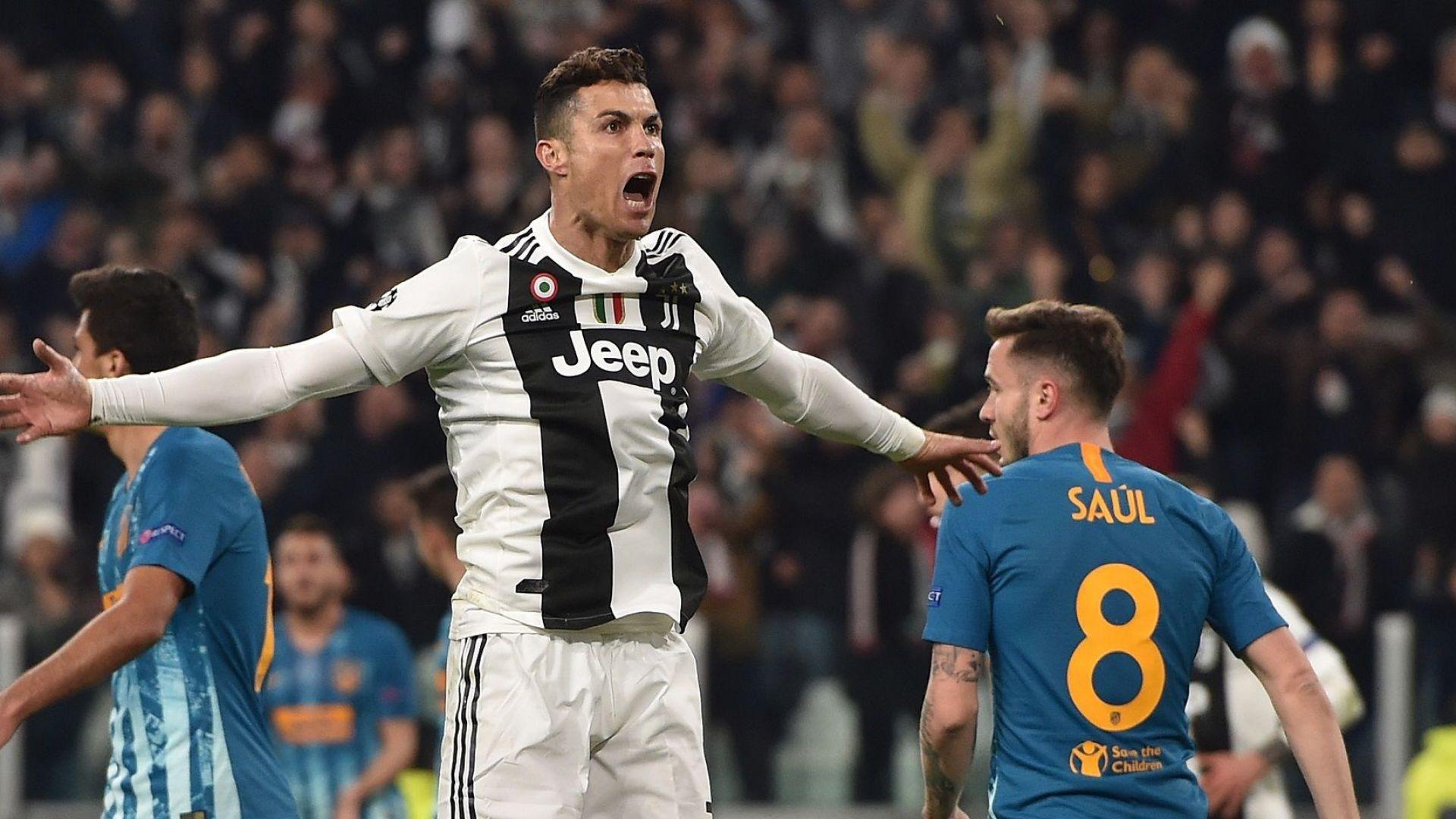 Невероятен Роналдо поведе Ювентус към голям обрат