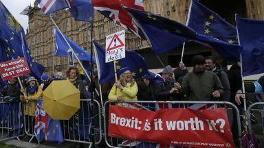 Брекзит е мъртъв, скандират еврофили в Лондон