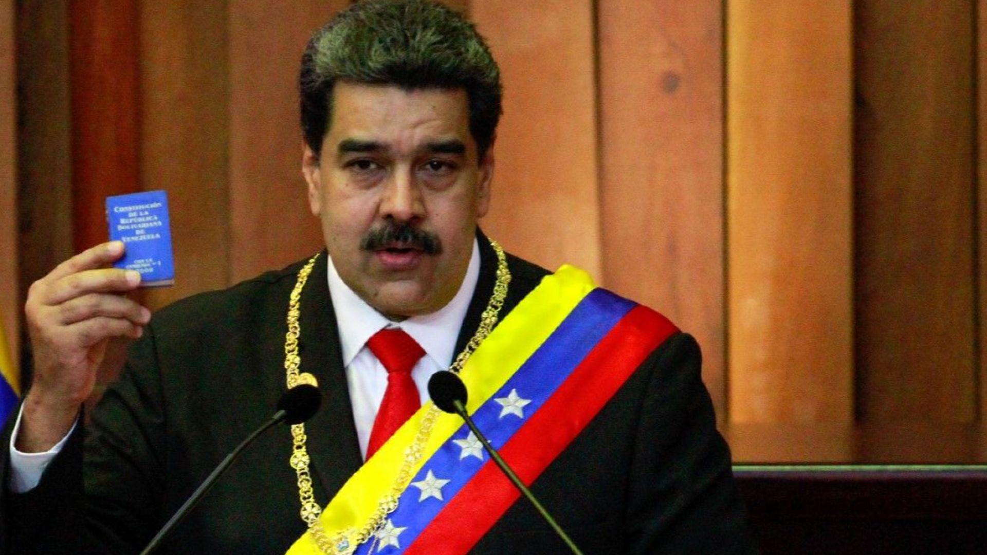 Мадуро обяви военна тревога заради страх от покушение