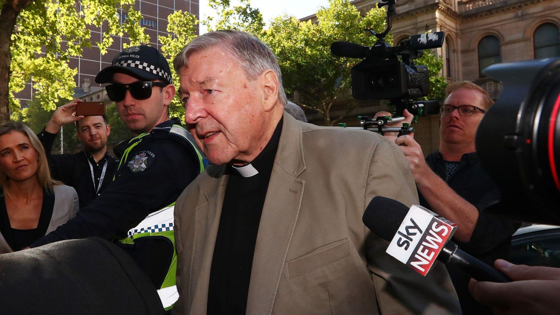 6 години затвор за кардинал Джордж Пел, блудствал с деца