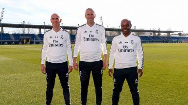Зидан изведе Реал за първа тренировка, разкриха заплатата му