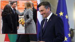 Експерт по протокол: Радева допусна грешка с жеста към словенския президент