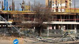 ДНСК не откри нарушения на строежа с падналия кран