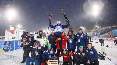 Владо Илиев бе посрещнат като национален герой