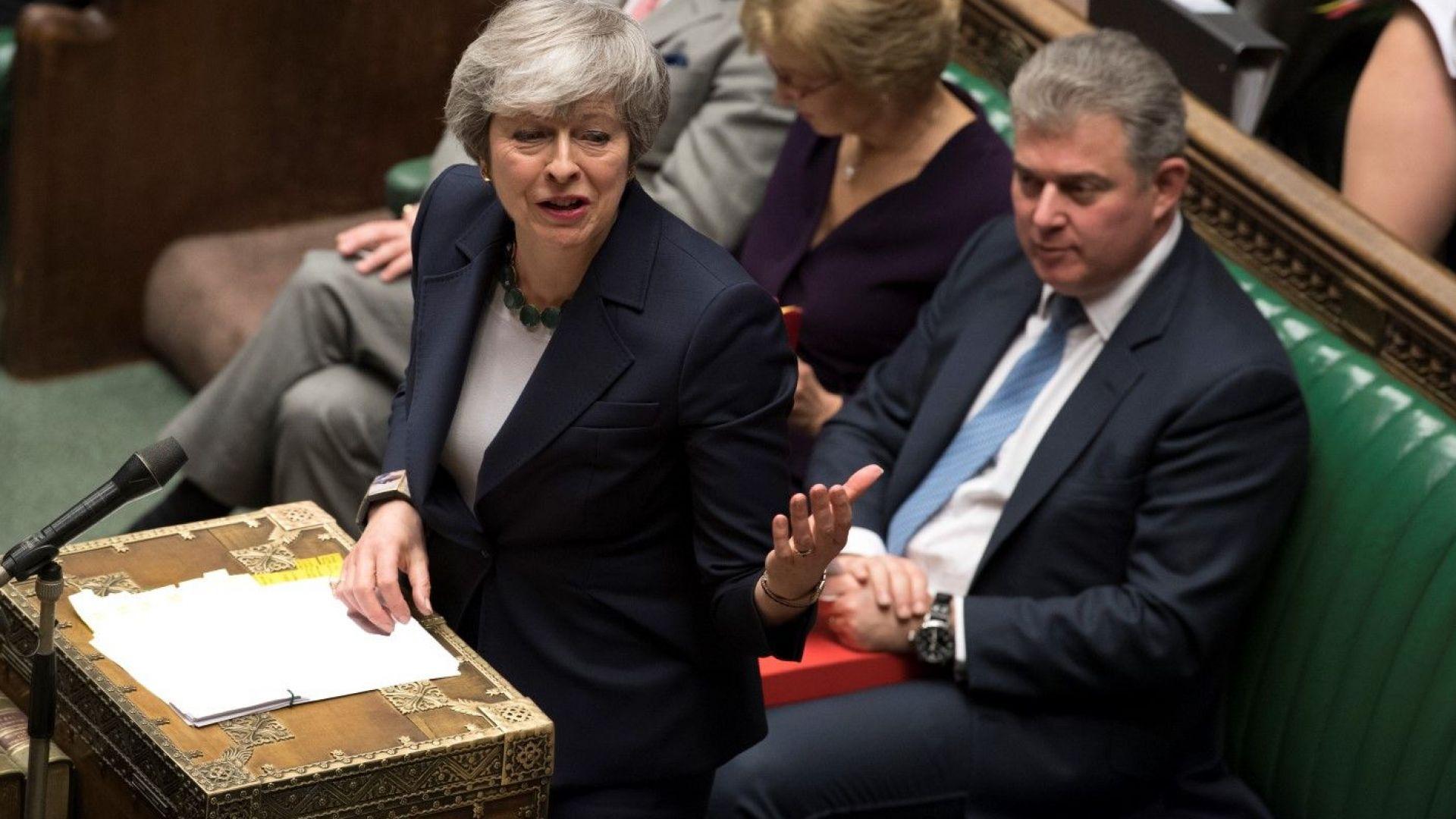 Британските депутати отхвърлиха Брекзит без сделка
