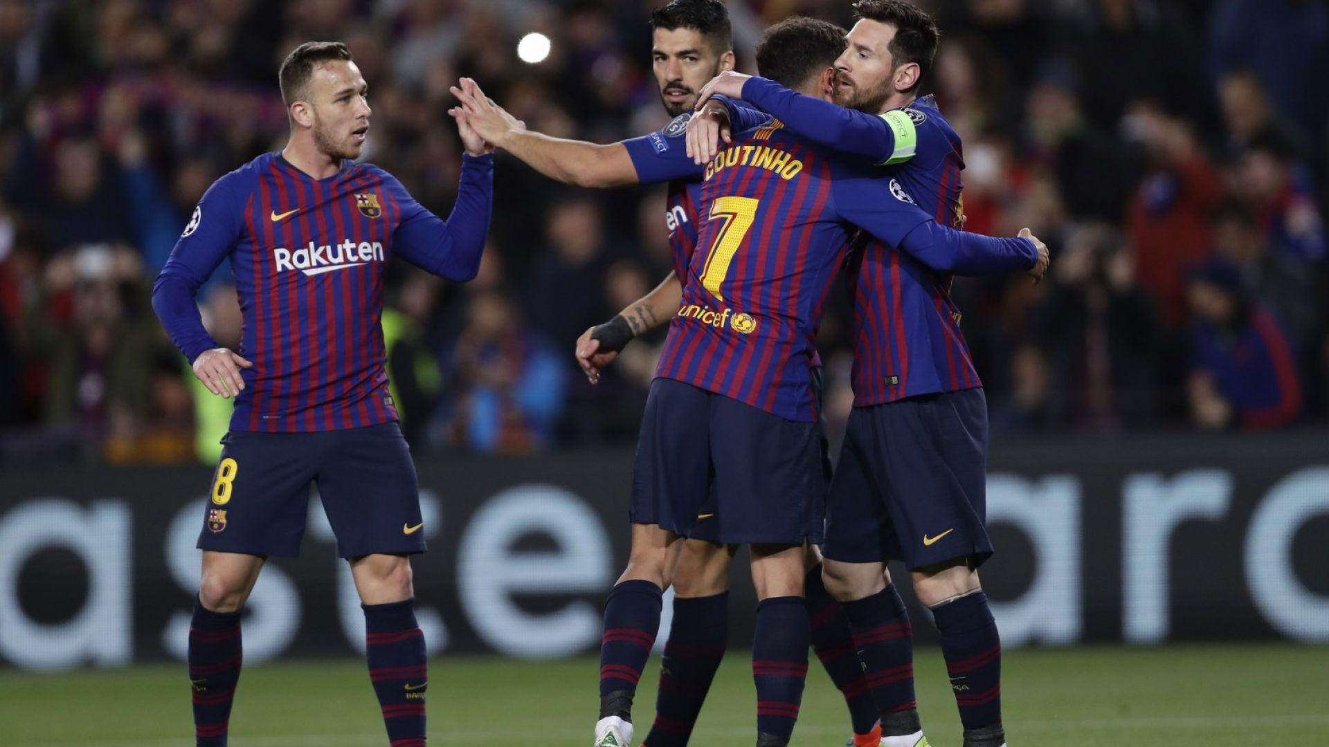 Барса и Висшата лига доминират в списъка за идеален отбор на 2019 г.