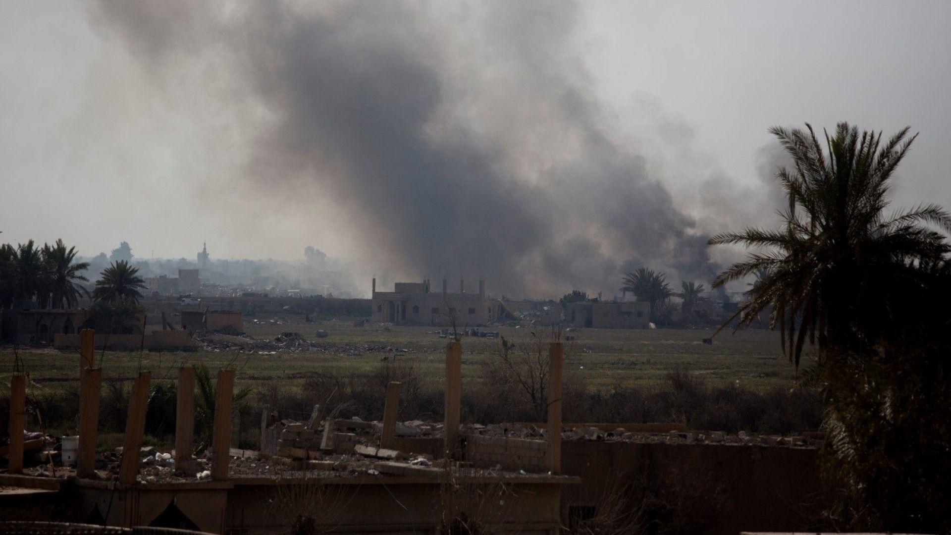 Най-малко 13 цивилни, включително 6 деца, са убити  при руски въздушни удари в Идлиб