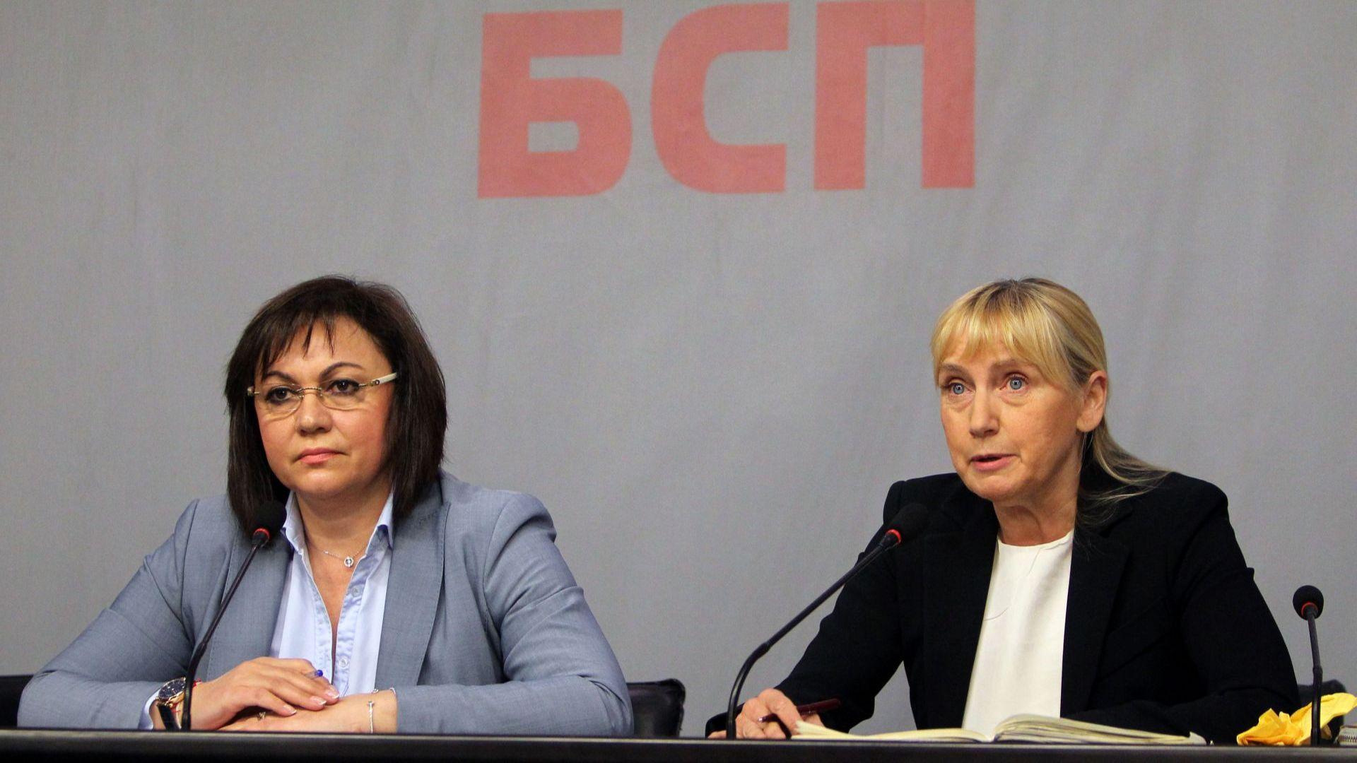 Напрежение в БСП след обвиненията на Елена Йончева към Корнелия Нинова