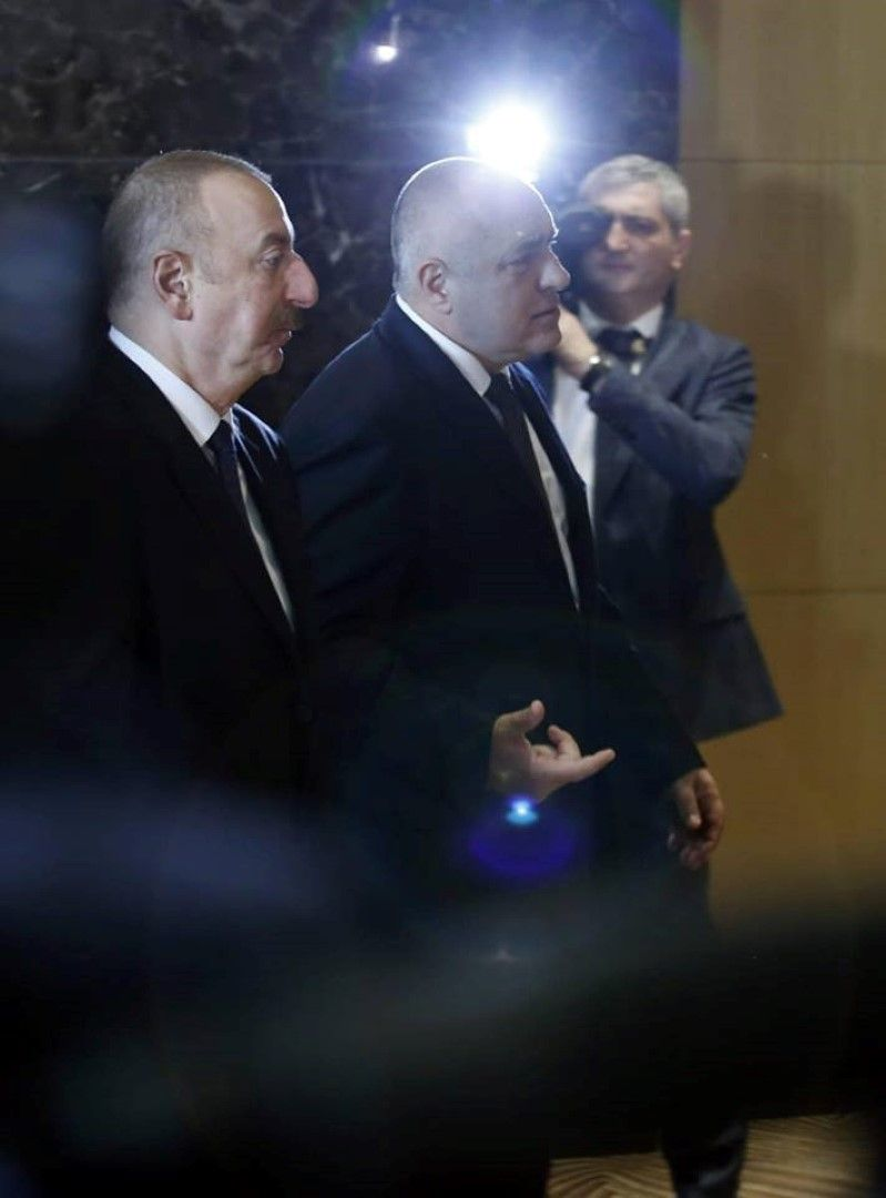 Илхам Алиев и Бойко Борисов