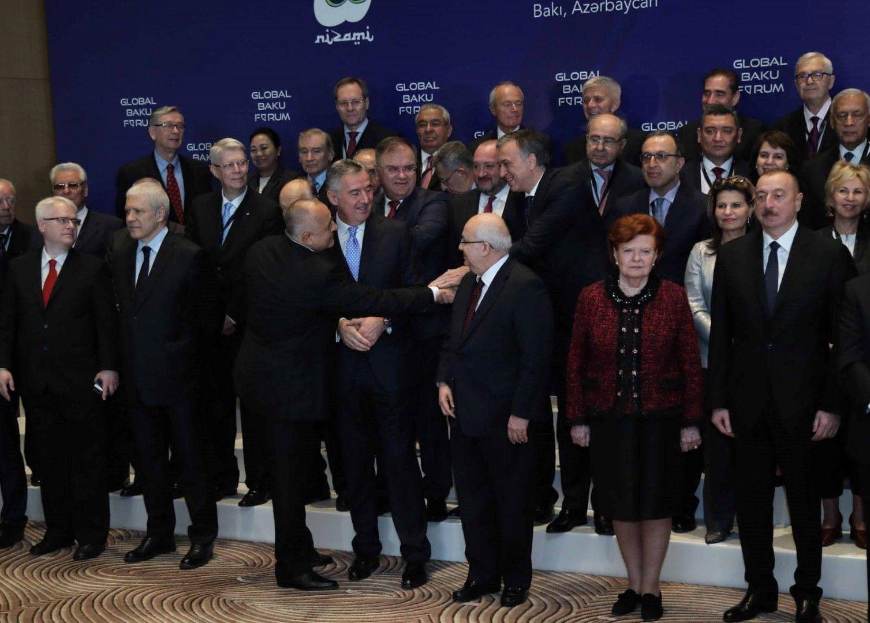 Участниците в глобалния форум в азербайджанската столица Баку