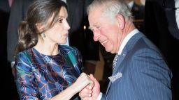 Кралица Летисия очарова принц Чарлз в Лондон
