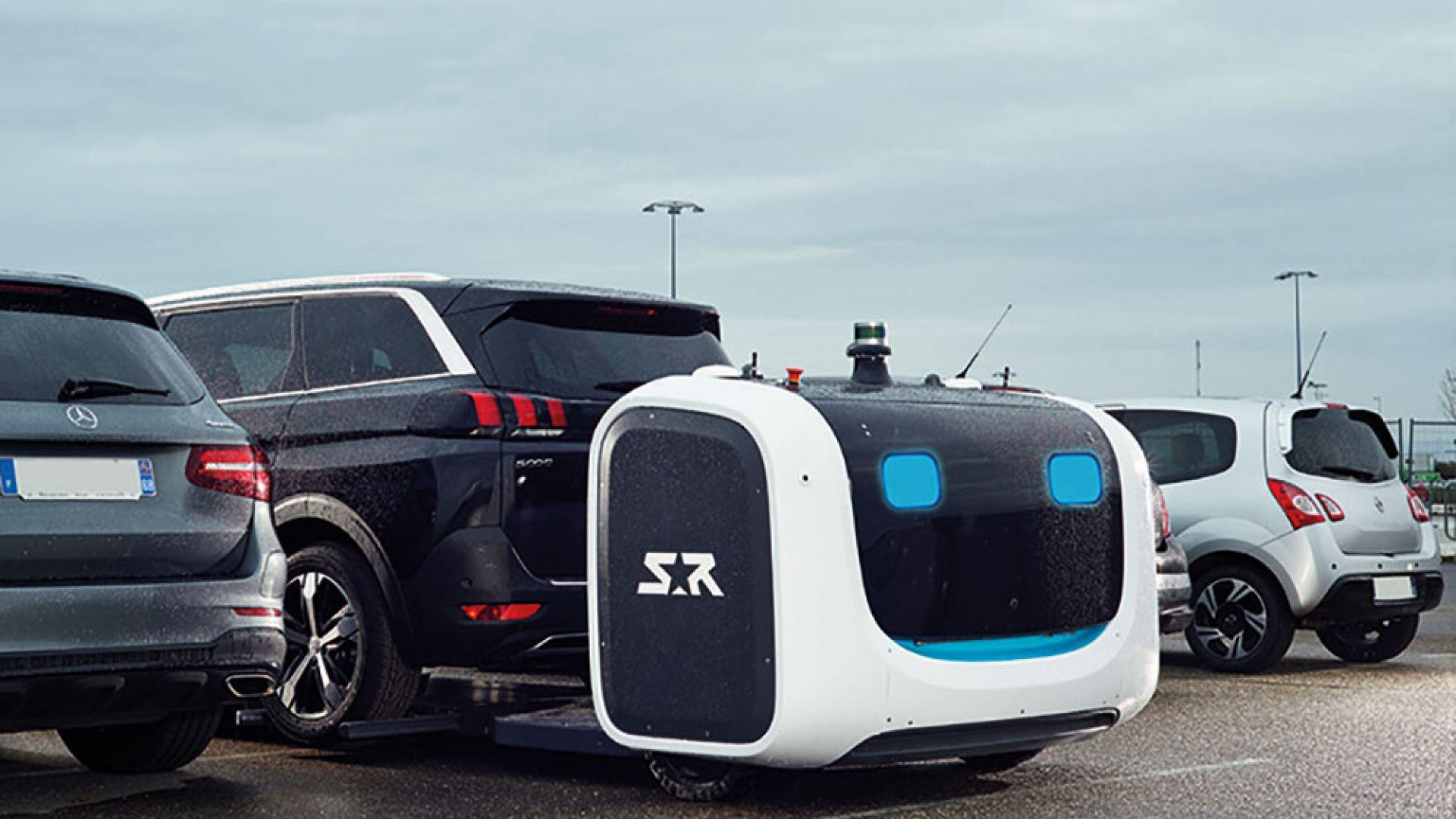 Робот паркира коли на летището в Лион  (видео)