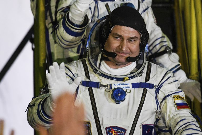 руският космонавт Алексей Овчинин