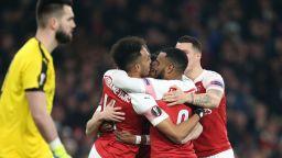 Арсенал се разигра и изхвърли французи (резултати в Лига Европа)