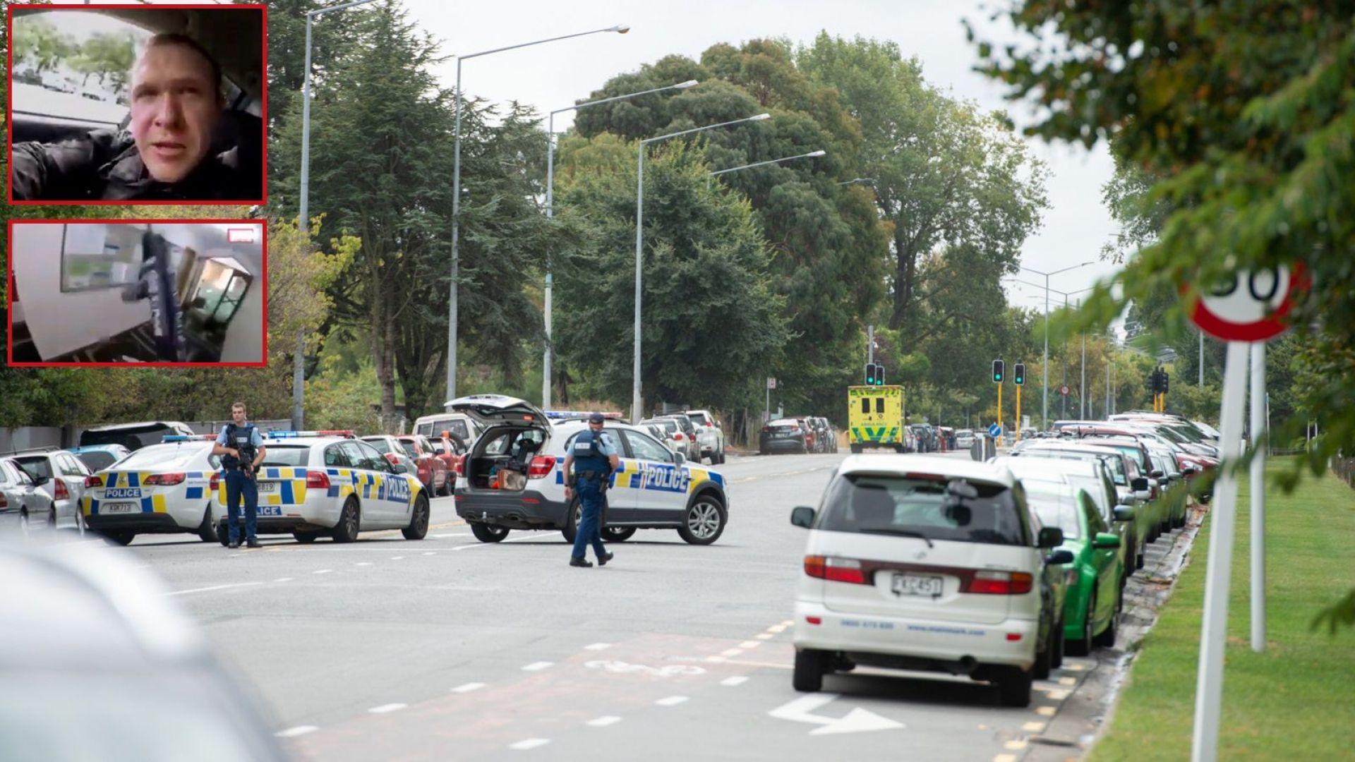Нападателят от Крайстчърч обвинен в тероризъм