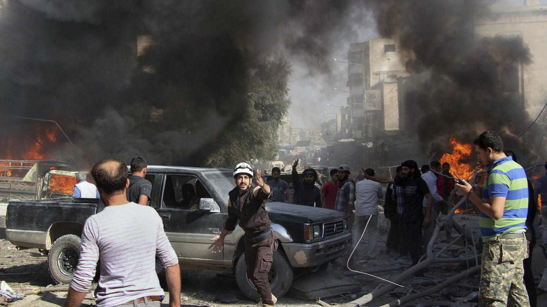 Три жeни се взривиха сред тълпа, напускаща последната джихадистка крепост