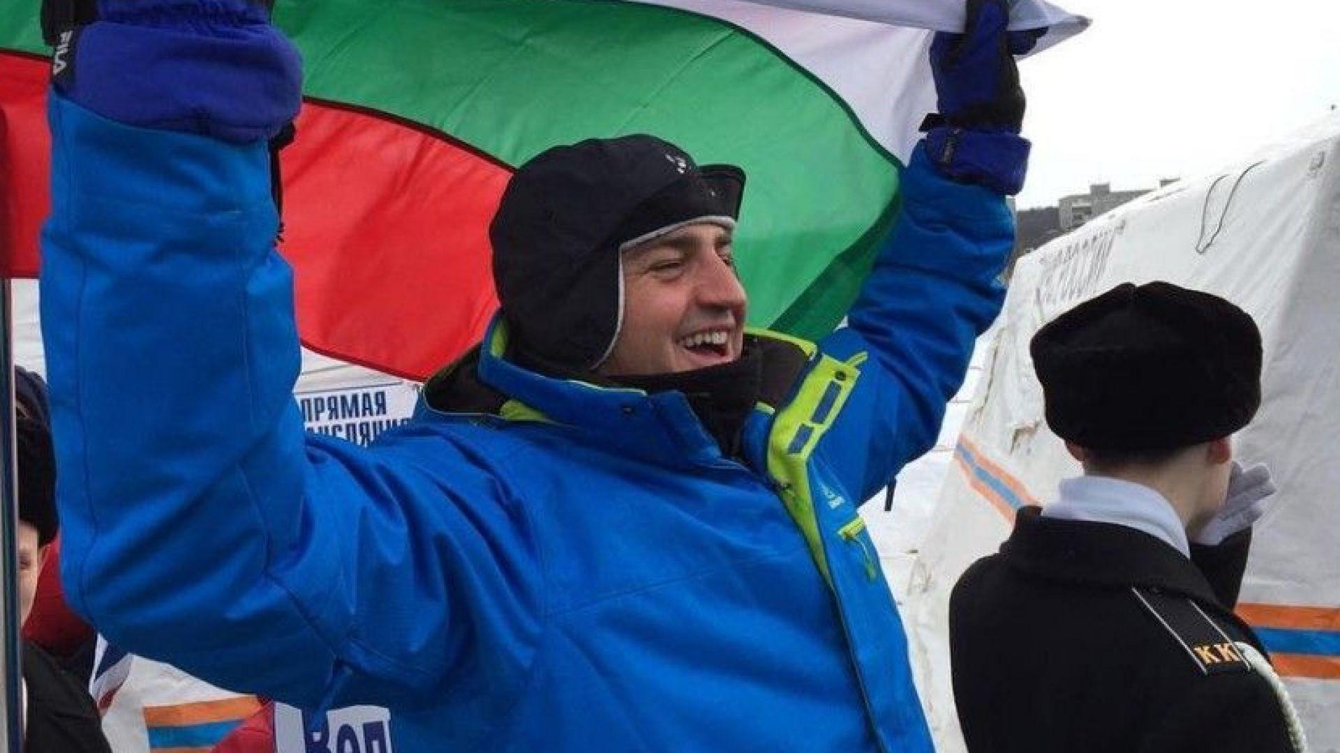 Петър Стойчев отново е световен шампион в ледени води