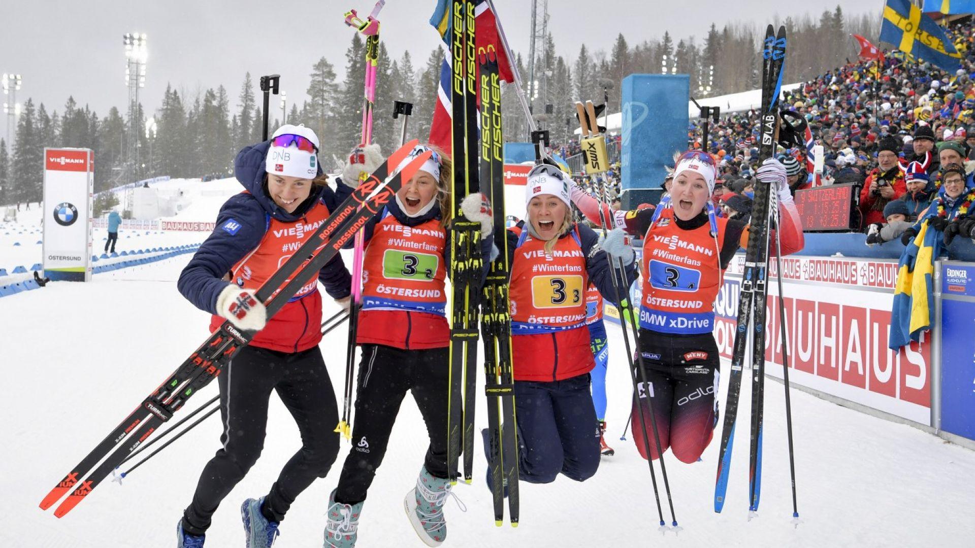 Олимпийска шампионка провали Швеция в женската щафета за норвежки триумф