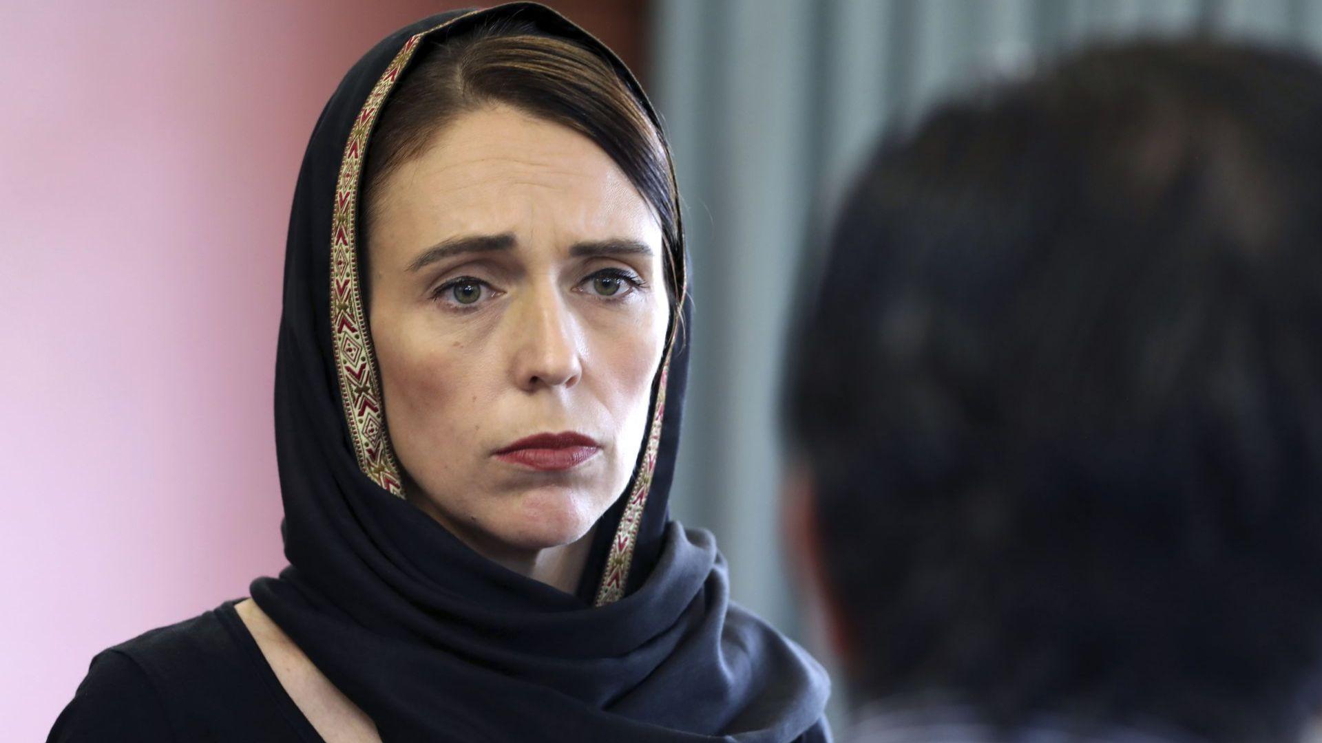 Новозеландската премиерка Джасинда Ардърн съобщи, че е получила манифеста на