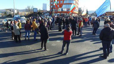 """Нова блокада на """"Цариградско шосе"""" за 3 часа"""