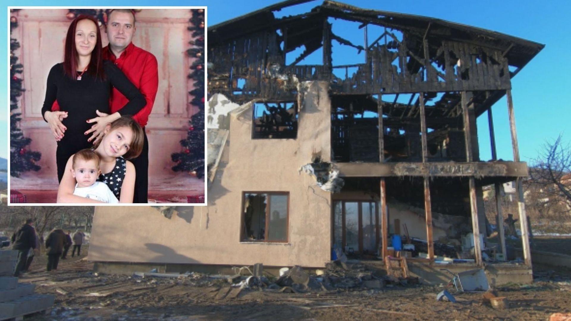 Трето дете се роди в семейството на пилота, останало без дом след пожар