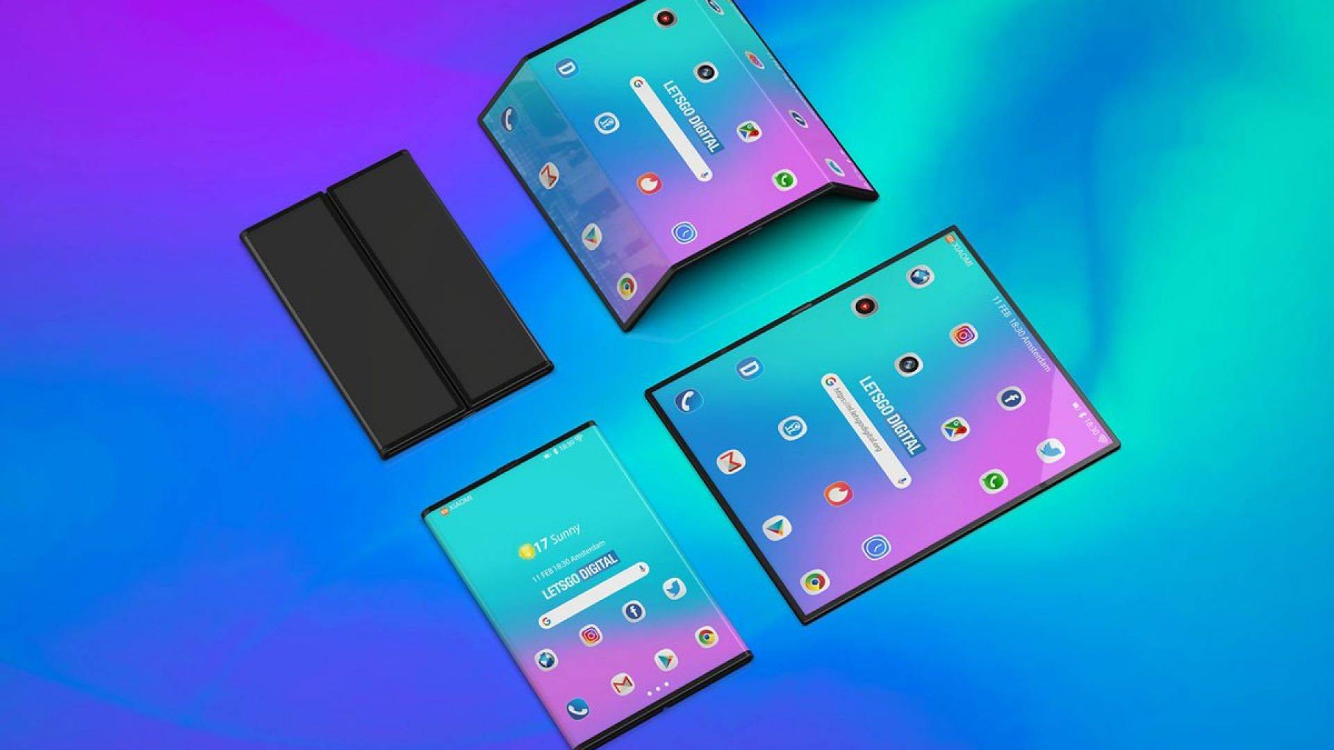 Сгъваемият смартфон на Xiaomi ще е два пъти по-евтин от Galaxy Fold