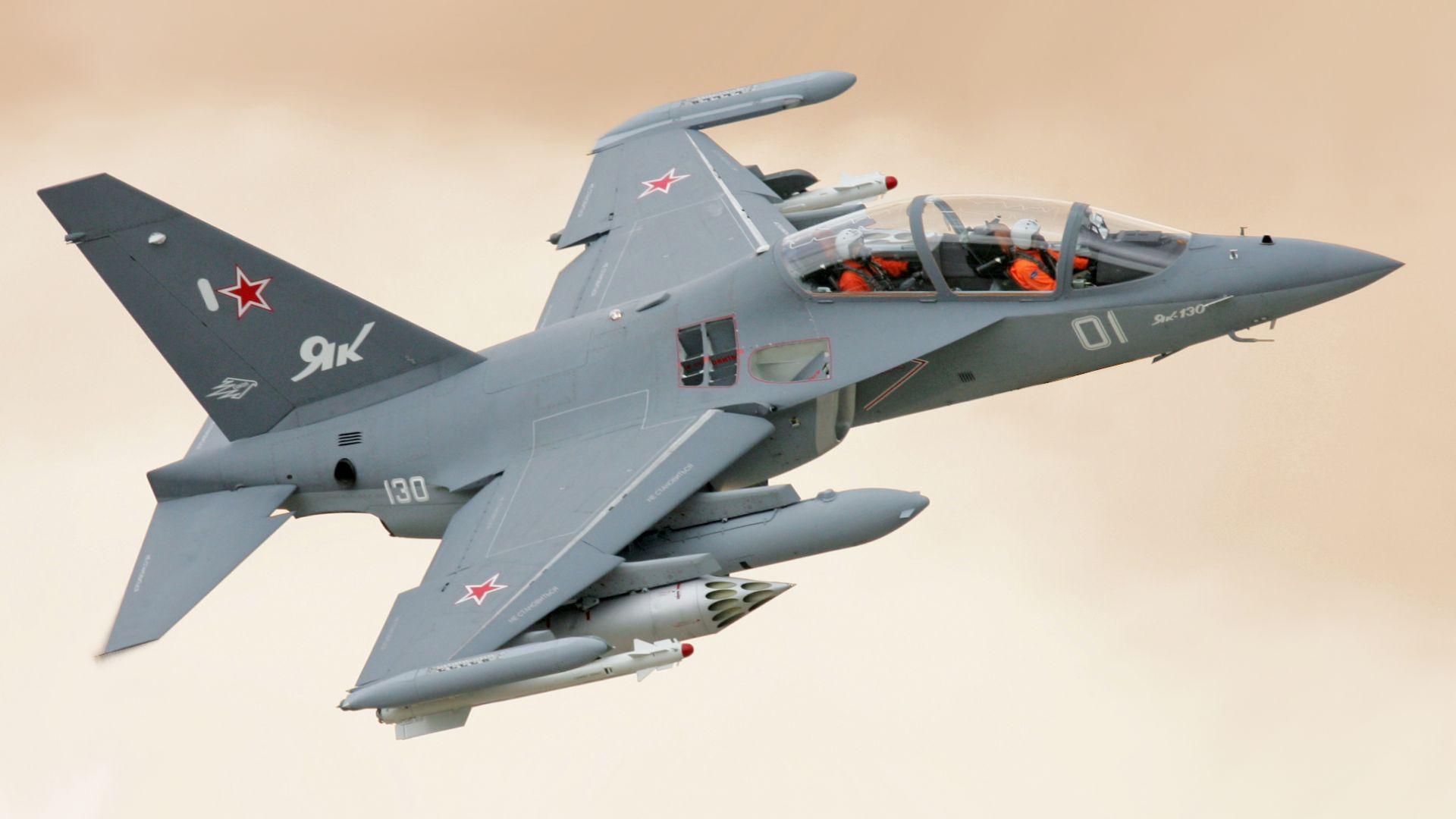 Руският Як-130 ще покаже как атакува наземни цели