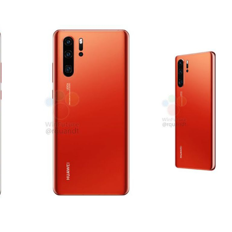 Как ще изглежда Huawei P30 (снимки)