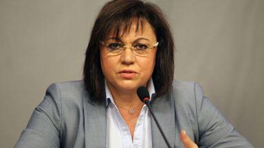 Корнелия Нинова: Имаме информация за използване на МВР за евроизборите