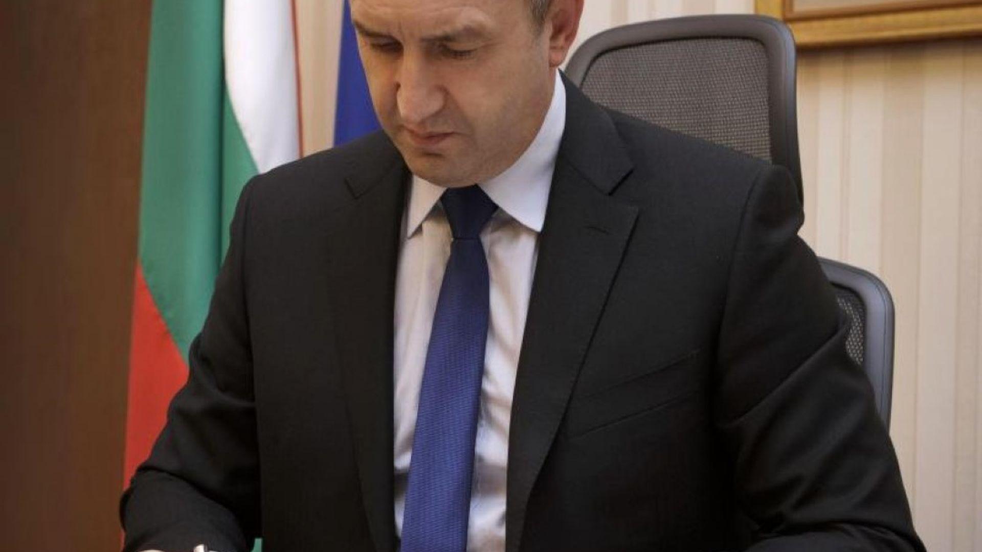 Президентът Радев насрочи за 26 май евроизборите