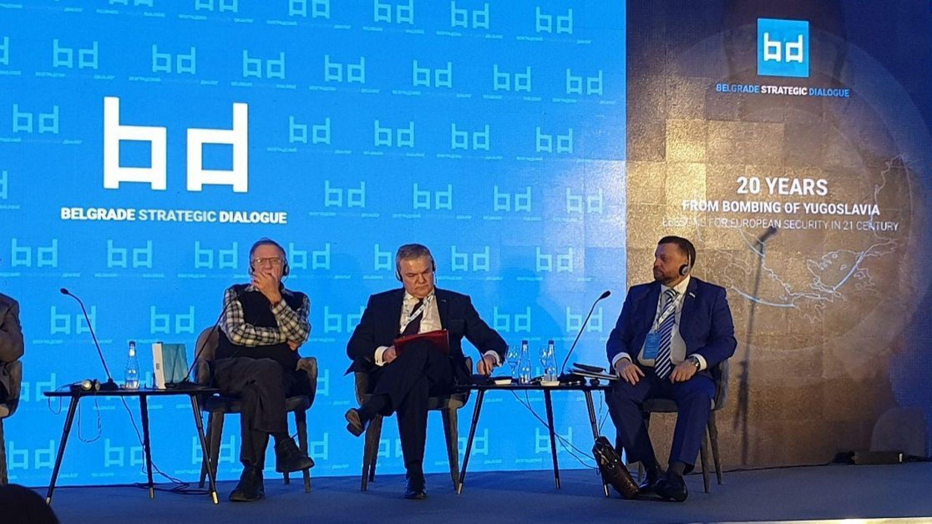"""Румен Петков в Белград: Посланието ни днес трябва да бъде """"Диалог, политически решения, мир!"""""""