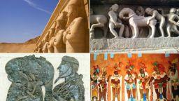 Сексуалните традиции в изкуството на древните цивилизации