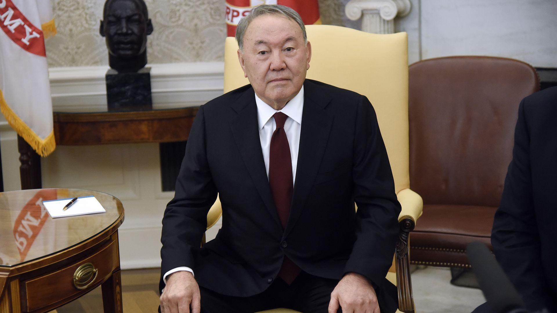 Президентът на Казахстан Нурсултан Назарбаев обяви в телевизионно обръщение днес,