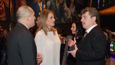 Президентското семейство уважи премиерата на първия филм на Камен Донев