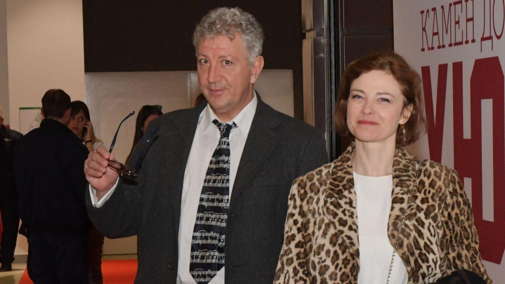 Стефка Янорова със съпруга си доктор Петър Трендафилов