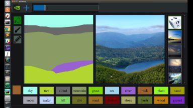 Nvidia създаде AI което превръща рисунки на Paint във фотореалистични картини