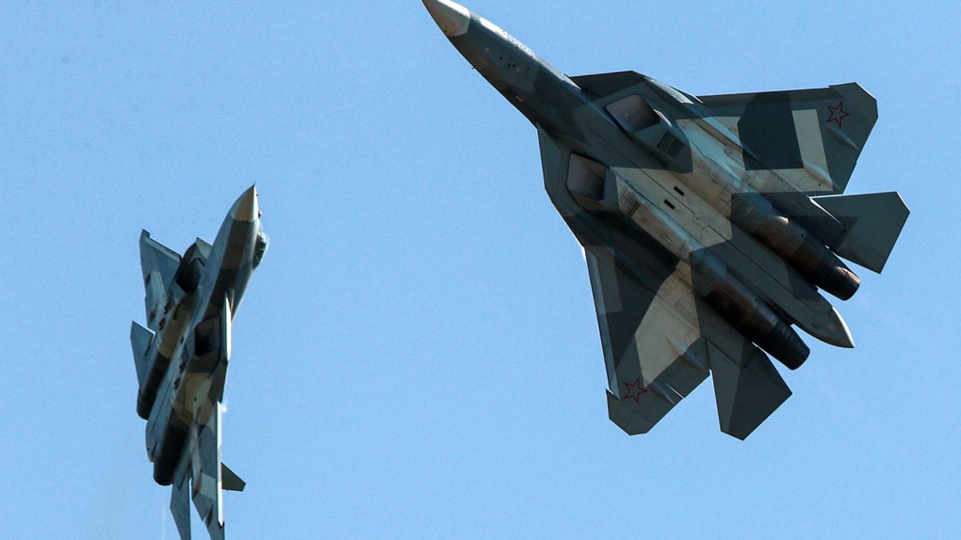 Руската армия ще получи първия изтребител от пето поколение Су-57