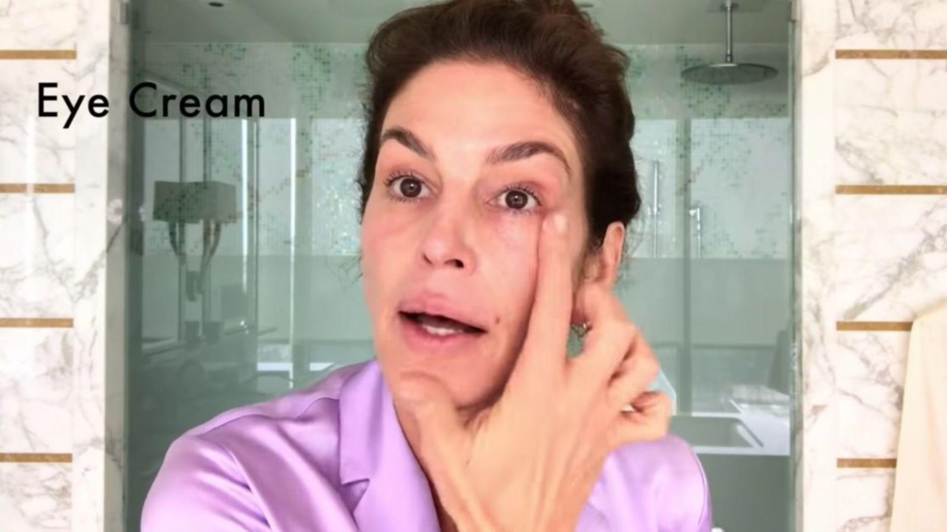 Синди Крауфорд съветва как да се разкрасим за 10 минути