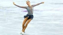 Александра Фейгин отново пише история на Световното по фигурно пързаляне