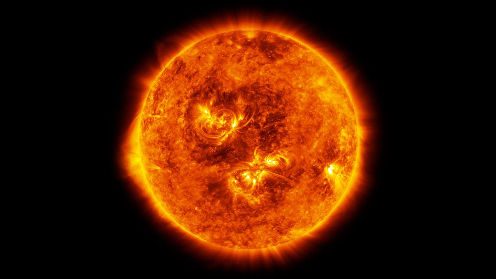 Има ли торнадо на Слънцето