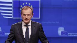 Туск: ЕС може да приеме кратко отлагане на Брекзит