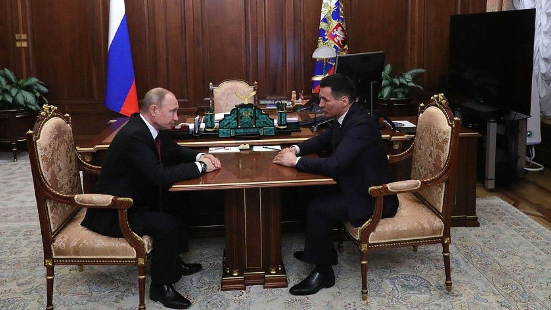 Путин назначи бивш кикбоксьор за губернатор на Калмикия