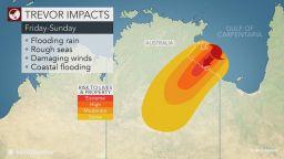Евакуират 2000 души в Австралия заради циклоните Тревър и Вероника