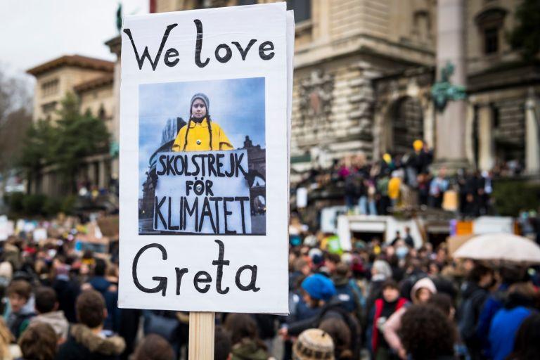 Обичаме Грета, казват учениците в Швейцария