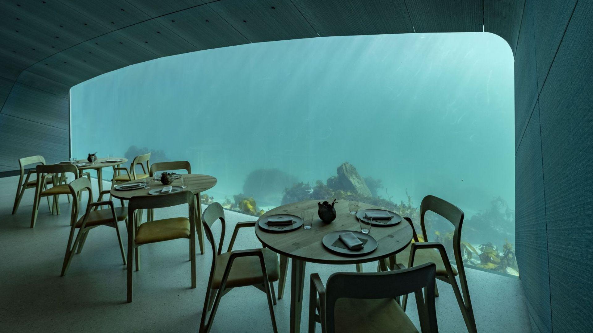 Подводен ресторант беше открит в Северно море, край южния норвежки