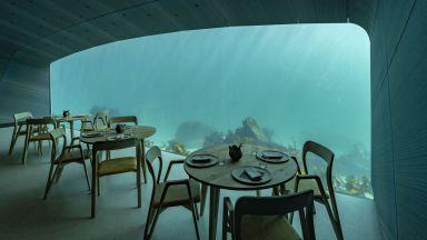 Първият подводен ресторант в Европа беше открит в Норвегия (видео и снимки)
